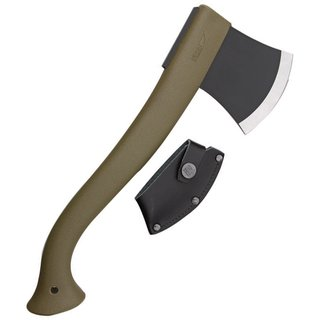 Morakniv Camp Axe & Outdoor 2000 knife, Survival-Kit olivgreen, M-1-2001