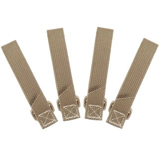 Maxpedition 3 (7,6 cm) TacTie Attachment Strap System, khaki (4 Stück)