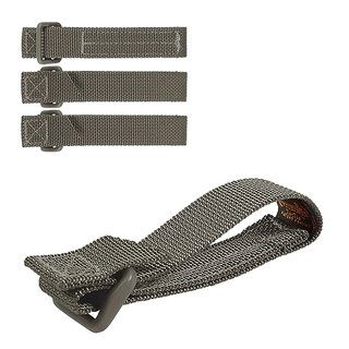 Maxpedition 3 (7,6 cm) TacTie Attachment Strap System, foliage green (4 Stück)