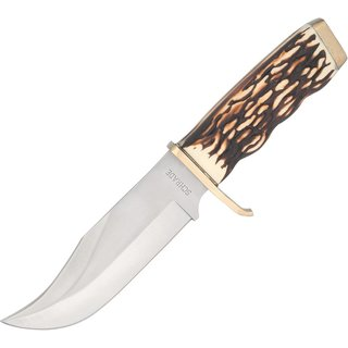 Schrade Uncle Henry Large Pro Hunter Rat Tail Tang Fixed Blade Knife
