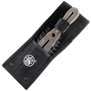 Smith & Wesson 8 Throwing Knives - 6 Wurfmesser aus 2Cr13 Edelstahl mit Scheide
