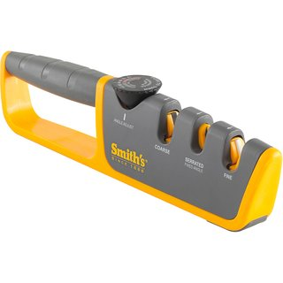 Smiths Adjustable Manual Knife Sharpener Gray/Yellow