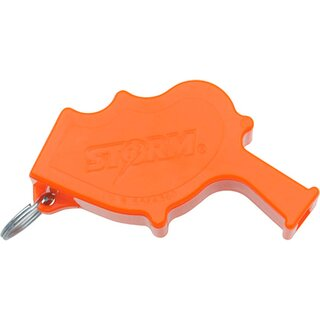 All Weather Safety Whistle Storm Safety Whistle Signal- Notfallpfeife in orange