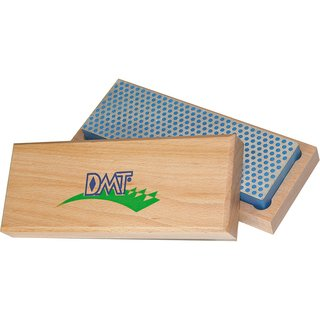 DMT 6-in. Diamond Whetstone Sharpener, Coarsewith Hardwood Box DMTW6C