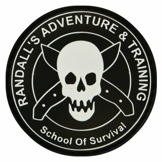 ESEE Randall´s PVC School of Survival Patch - Rat Patch 6,4 cm