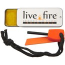 Live Fire Original Survival Kit Ferrocerium Rod and Striker