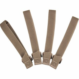 Maxpedition 5 (12,7 cm) TacTie Attachment Strap System, Khaki (4 Stück)