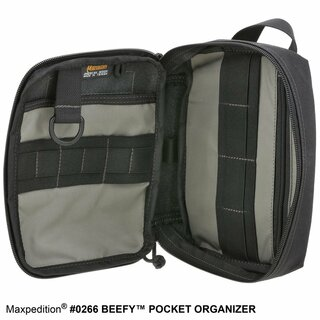 Maxpedition Beefy Pocket Organizer aus 1000D Nylon in wolf grey, MX266W