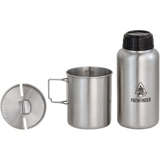 Pathfinder Bottle and Nesting Cup Set
