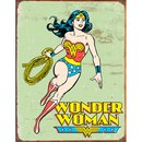 Tin Signs Wonder Woman Retro