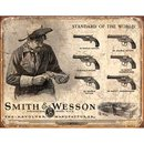 Tin Signs S&W Revolvers