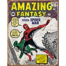 Tin Signs Spider Man Comic Cover