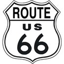 Tin Signs Route 66 Shield