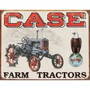 Tin Signs Case Tractor - CC High