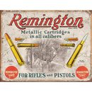 Tin Signs Remington For Rifles &