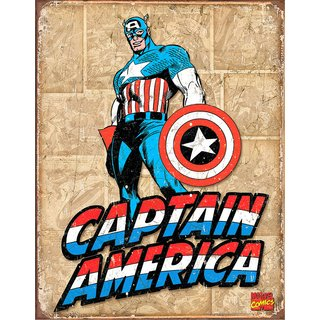 Tin Signs Captain America