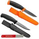 Morakniv Companion Set, orange and black, Sharpener, M-00290